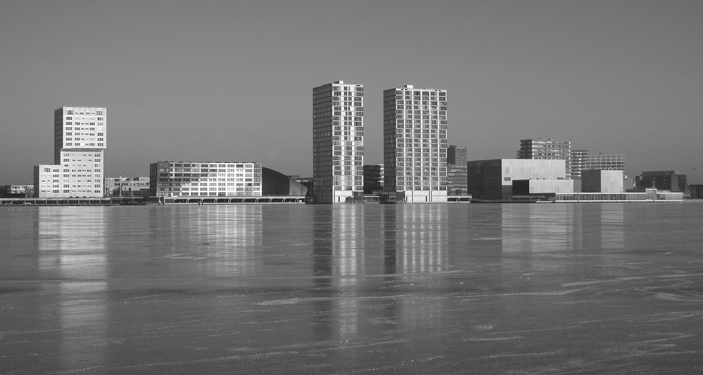 Skyline Almere Stad
